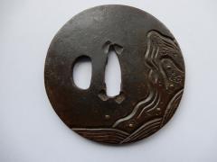 Nihonto - antike Tsuba - Tsuba 002 - 1700 - 1800